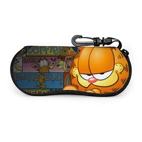 Brillenetui, Garfield Portable Reisebrillenetui mit Reißverschluss und Lesebrillen-Schutzset
