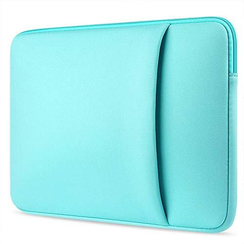 Toshiba Tecra Laptoptasche - Laptop Hülle - Schutzhülle für Laptops - 14 Zoll - mit Seitliche Tasche - Turqouise