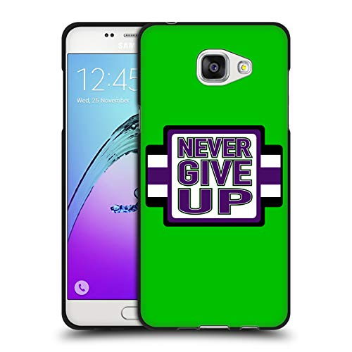 Head Case Designs Offizielle WWE John Cena Never Give Up 2018/19 Superstars 4 Schwarze Soft Gel Huelle kompatibel mit Samsung Galaxy A5 (2016)