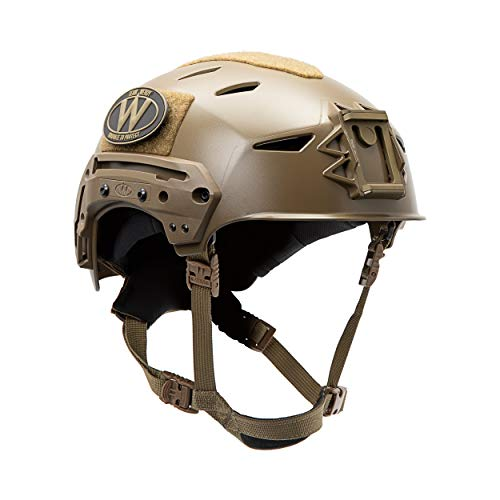 Team Wendy EXFIL LTP Helmet with Rail 2.0 (Coyote Brown, Size 1)