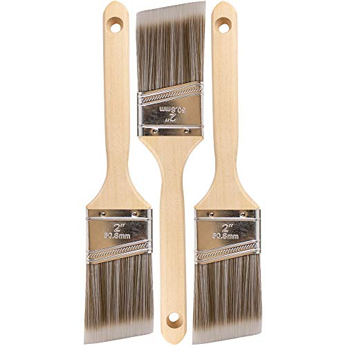 Pro Grade - Paint Brushes - 3Ea - Paint Brush Set