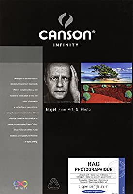 Canson Infinity Rag Photographique Fine Art Paper