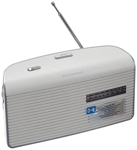 Grundig Music 60, empfangsstarkes Radio im modernen Design, white/silver