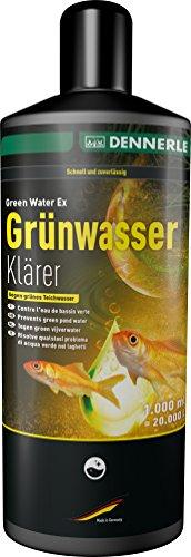 Dennerle Grünwasserklärer - entfernt zuverlässig Schwebealgen aus dem Teich (1000 ml)