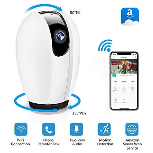 DIGOO WLAN IP Überwachungskamera mit Nachtsicht, Bewegungserkennung und 2 Wege Audio