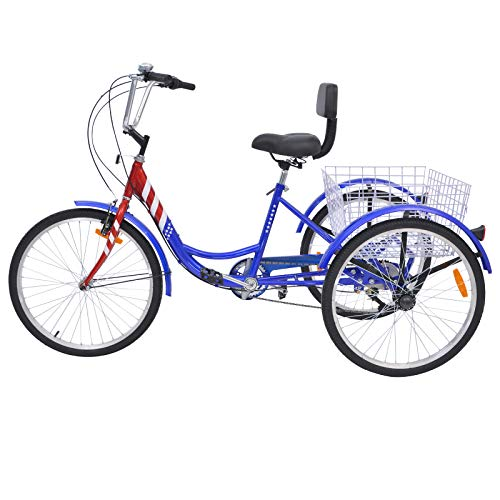 Slsy Adult Tricycles 7 Speed