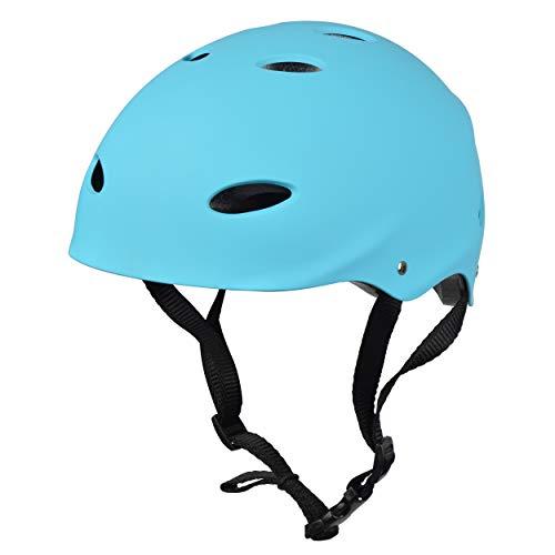 Apollo Skate-Helm/Fahrradhelm - Verstellbarer Skateboard, Scooter, BMX-Helm, mit Drehrad-Anpassung geeignet für Kinder, Erwachsene, in verschiedenen Größen und Farben