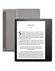 All-New Kindle Oasis (10th gen) - 7 Inch High-Resolution Display, Waterproof, Wi-Fi, Graphite