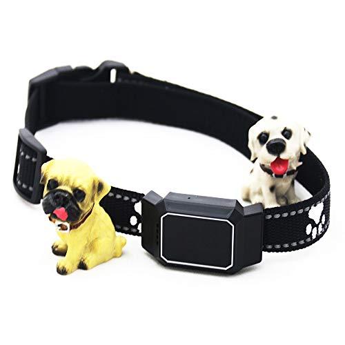 XUXN Rastreador GPS para mascotas, localizador D35, collar antipérdida, localizador GPS, impermeable, llamadas de voz para perros grandes y medianos