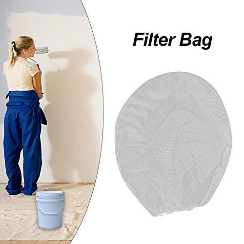 Rebirthesame 10 bolsas coladoras de pintura, filtros de malla fina, bolsa de 5 galones, bolsa de filtro de apertura elástica para pintura hidropónica para jardinería, 1, 2 gallons