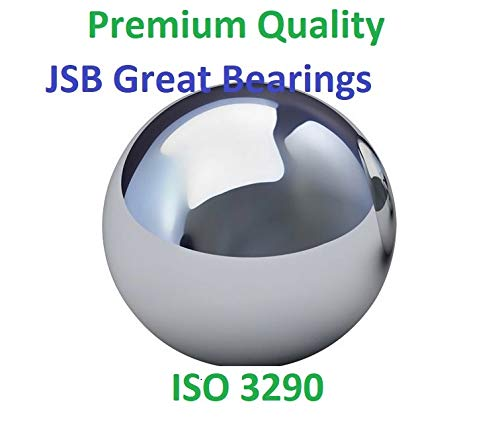 """10 Premium 3//4/"""" Solid Steel Ball Bearing Loose G25 0.75 in // 19.05 mm"""