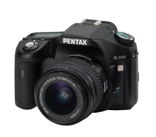 tax cameras Pentax K200D 10.2MP Digital SLR Camera with Shake Reduction 18-55mm f/3.5-5.6 Lens