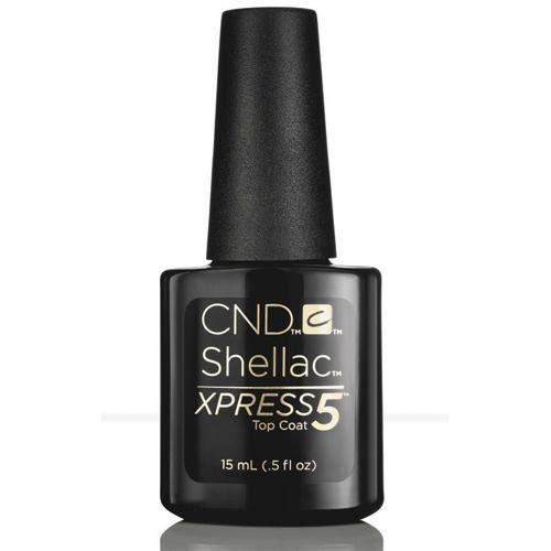 CND Shellac Xpress5 Top Coat 15 ml, 1er Pack (1 x 0.015 l)