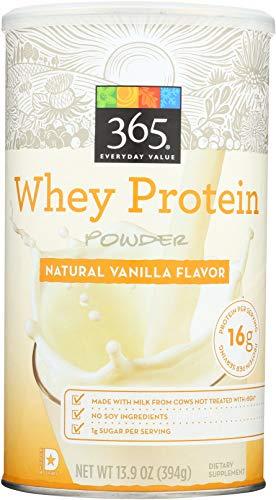 365 Everyday Value, Whey Protein Powder, Natural Vanilla Flavor, 13.7 oz