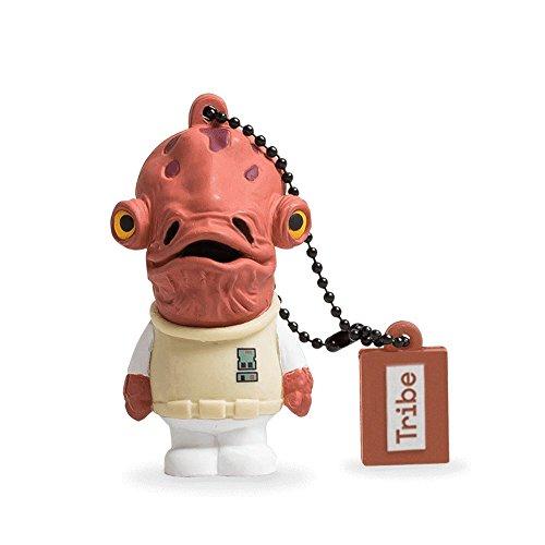 Llave USB 8 GB Admiral Ackbar - Memoria Flash Drive 2.0 Original Star Wars, Tribe FD007413