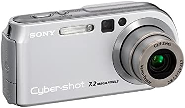Sony Cybershot DSCP200 7.2MP Digital Camera 3x Optical Zoom (Discontinued by Manufacturer)