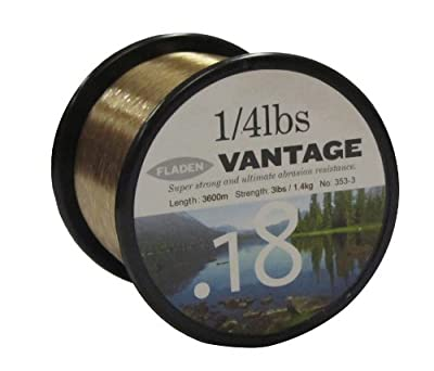 Fladen Vantage Pro Fishing Line on 1/4lb Spools from FLADEN