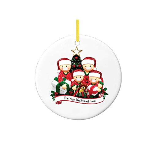 2020 New Christmas Tree DIY Decorations Lighted Pendant Faceless Old Man Hanging Ornaments Family Christmas Decor Kit