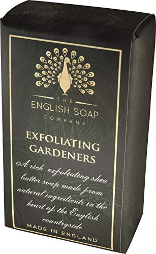 The English Soap Company, Pure Indulgence Exfoliating Gardeners, Shea Butter Soap, 200g