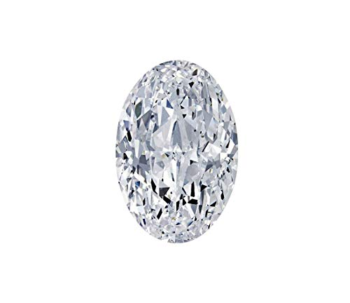 USKC Colorless(D-E-F) Loose Lab Moissanite Loose Stone Oval Cut(VS-VVS) (810mm)