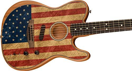 Fender American Acoustasonic Telecaster® - Tabla de dedo, diseño de