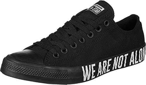 Converse Damen Chuck Taylor All Star Ox 165382 Sneaker, Schwarz (Black 165382c), 41 EU
