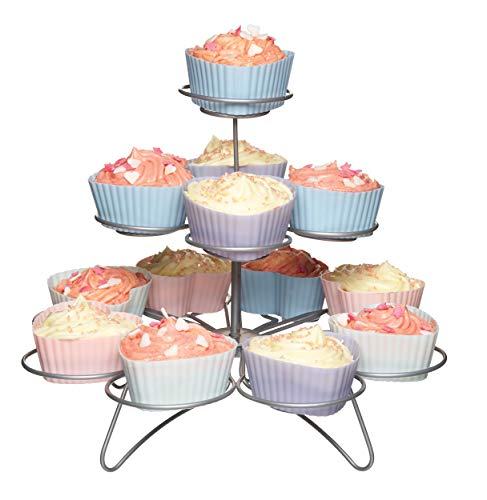 Kitchen Craft M128689 - Expositor Cupcakes 3 Niveles