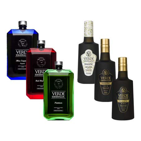 Pack Verde Esmeralda   Caja con 6 botellas de 500 ml de Acei