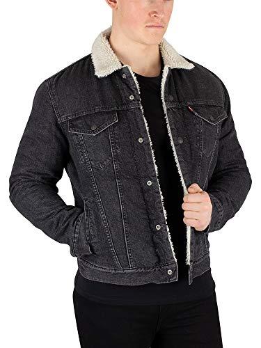Levi's® Sherpa Trucker Jacket - gefüttert - Fegin, Größe:XL