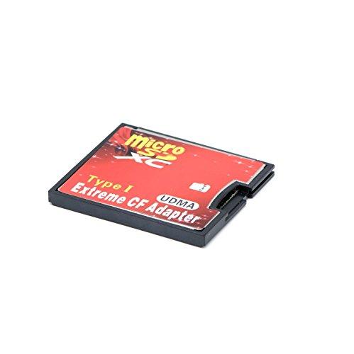 QUMOX MicorSD Um CF Compact Flash Speicherkarte Adapter Card Reader Typ 1 WiFi