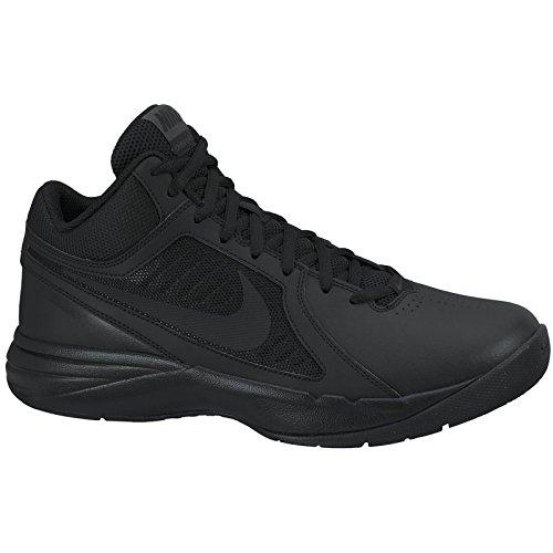 Nike Herren The Overplay VIII Basketballschuhe, Schwarz (Black/Black-Anthracite), 39 EU