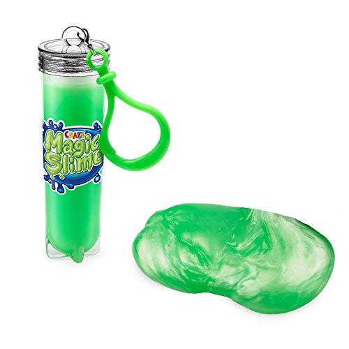 CRAZE Magic Slime Schlüsselanhänger mit Schleim Keychain für Kinder Party Mitgebsel 25 ml 23723, 6 Farbvarianten verfügbar