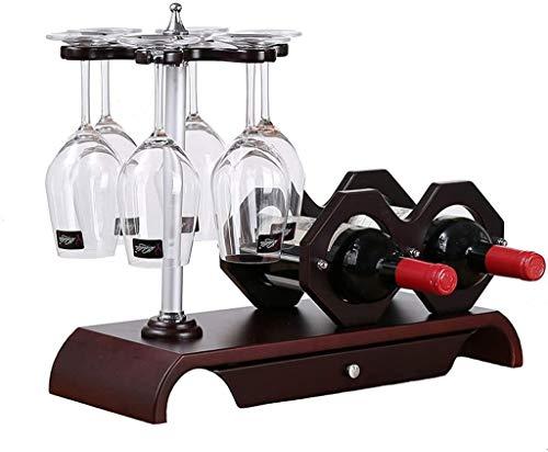 Wijnglas rek ondersteboven wijnfles houder hoge dichtheid vel wijnrek wijnrek inrichting 49. x18x36.5cm Wijnrek WKY