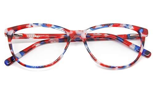 NOWAVE Neutrale Brille für PC, Tablet, TV und Gaming. Beseitigt visuelle Müdigkeit und Kopfschmerzen. Ruhigende Brille gegen blaues Licht 40 % und UV-100 %.