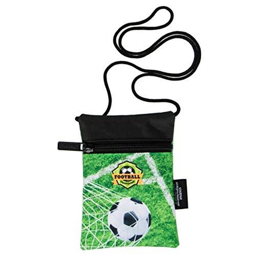 Starpak Brustbeutel Motiv Fussball Kinder Geldbörse Geldbeutel Portemonnaie Football