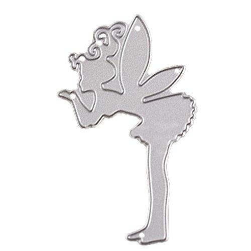Stansmessen Stencils Scrapbook kaart papier schimmel, DIY sterven snijder, sterven Craft sjablonen Flying Fairy Girl