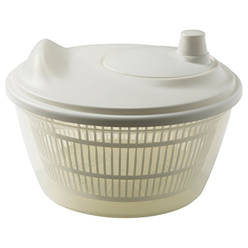 2 X Ikea 601.486.78 Tokig Salad Spinner, White by Ikea