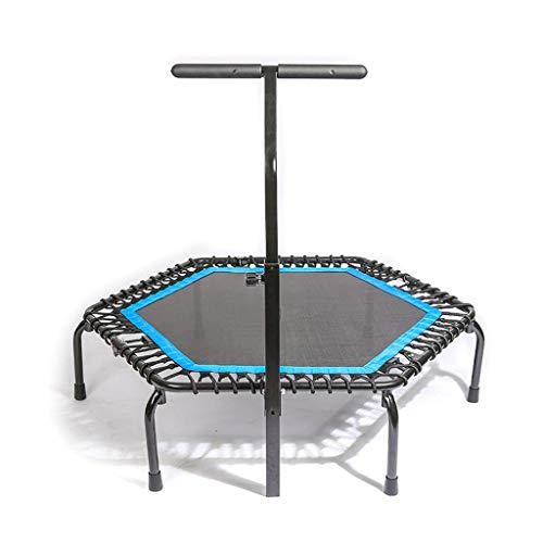 Opvouwbare trampoline, hometrainer, sport en fitness lente gedempte trampoline, kan minder dan 150 kg dragen