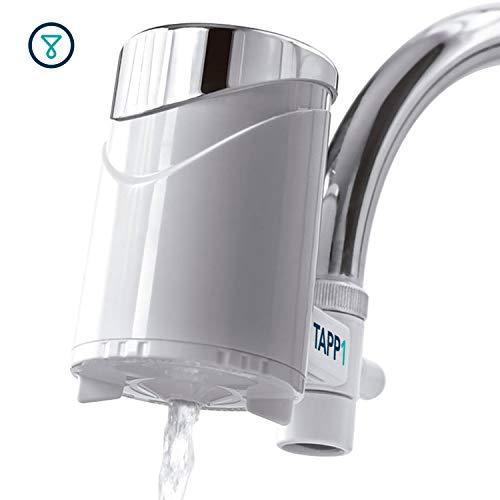 TAPP Water TAPP 1 - Wasserfilter Für Den Wasserhahn (Reduziert Chlorgehalt, Pestizide, Ablagerungen, Rost, Nitrate) 1200 Liter