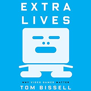 Extra Lives audiobook cover art