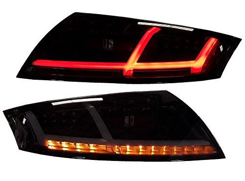 Voll LED Heckleuchten LED Rückleuchten schwarz Rauchglas RA21LBS links rechts