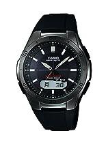 Casio Herren-Armbanduhr XL Wave Ceptor Analog - Digital Quarz Resin WVA-M640B-1AER