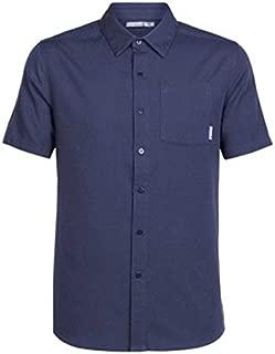 (アイスブレーカー) Icebreaker メンズ トップス 半袖シャツ Compass Short Sleeve Shirt [並行輸入品]