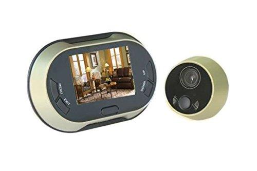 LScommerce® Mirilla para puerta electrónica pantalla digital LCD 3.5La cámara hace fotos...