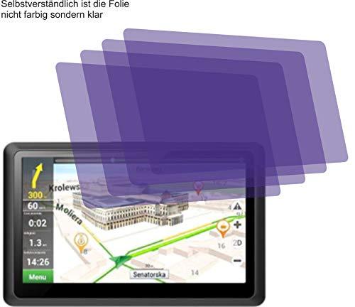 4ProTec I 4X ANTIREFLEX matt Schutzfolie für Kainuoa 5 Zoll Navi Displayschutzfolie Bildschirmschutzfolie Schutzhülle Displayschutz Displayfolie Folie