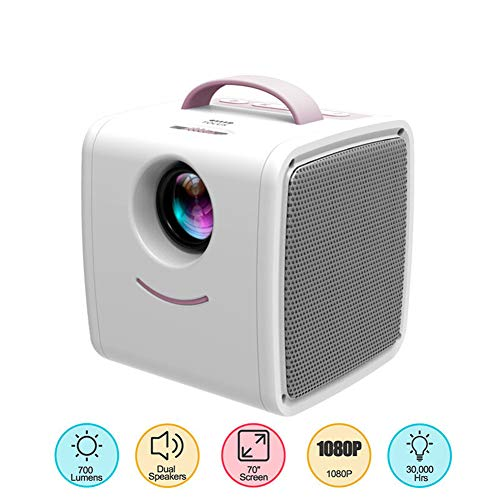 MaiTian projector, mini-projectorq2,30,000 uur lamp leven kinderen educatief cadeau ouders-kind draagbare projector LED TV Home Beamer