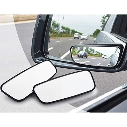 2 Piezas De 360 Rotación Retrovisor Del Coche De Punto Ciego Espejo Gran Angular Auto Del Bebé Panorámica De Atenuación Lateral Retrovisor Espejo Convexo Impermeable Cubiertas del espejo retrovisor