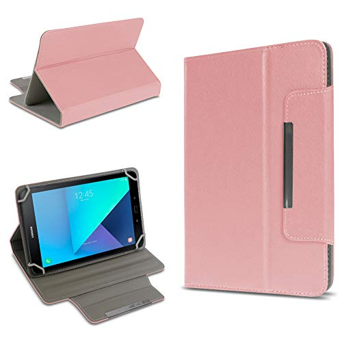 UC-Express Tablet Tasche kompatibel für Samsung Galaxy Tab Active 2 Hülle Tablet Schutzhülle Hülle Schutz Cover, Farben:Rosa