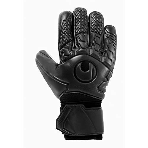 uhlsport Unisex– Erwachsene Torwart-Handschuhe-1011092 Torwart-Handschuhe, schwarz, 10