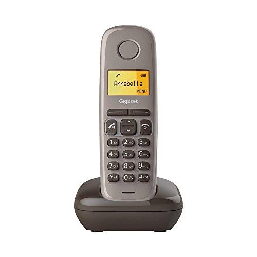Gigaset A270 Festnetz-Telefon Braun schnurlos DECT